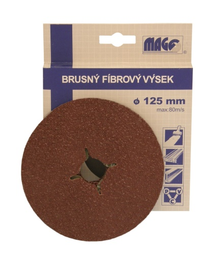 Brusný výsek 125 mm P24 MAGG
